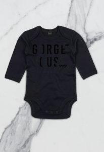 BABY-BODYSUIT-GORGEOUS-SPARKLE-ZWART